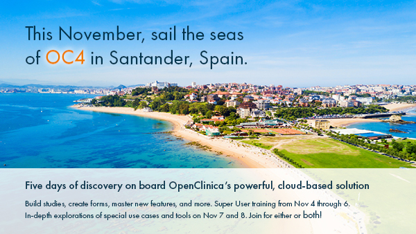 Save the Date: November 7 and 8 in Santander, Spain