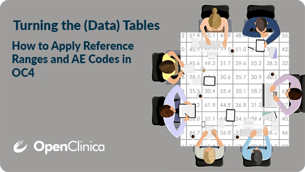 Just 20 minutes to AE coding and lab reference ranges