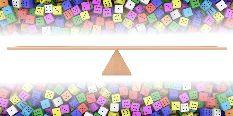 To counter bias, counterbalance